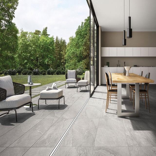 sandstone design porcelain tiles