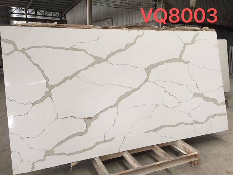 Calacatta Gold Quartz Big Slab VQ8003