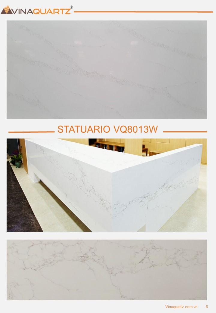 Engineered Quartz slabs for Kitchen Countertops