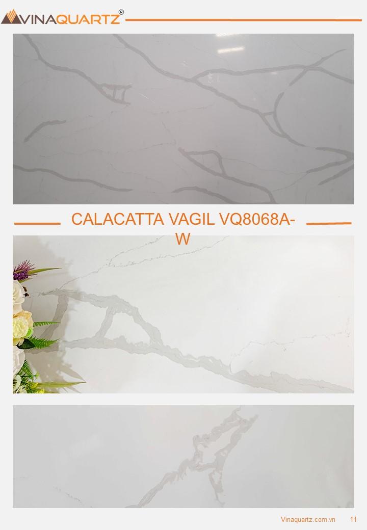 Artificial Quartz from Vietnam - Calacatta VQ8068A
