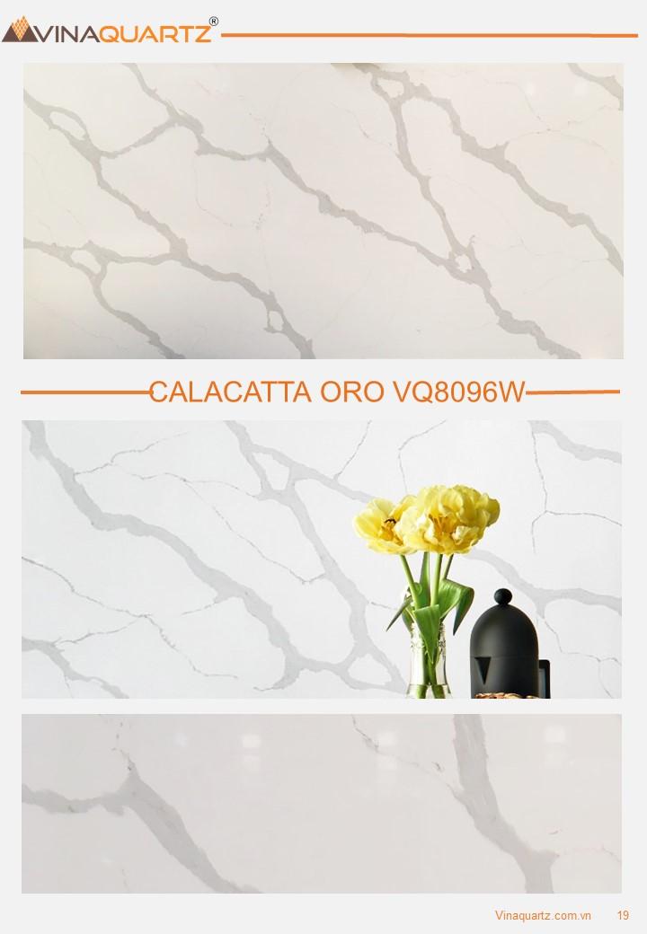 Artificial Quartz Slab Factory - Calacatta Oro