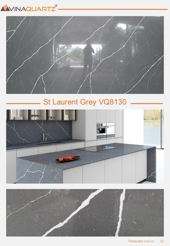 Engineered Quartz slab for Kitchen Countertops