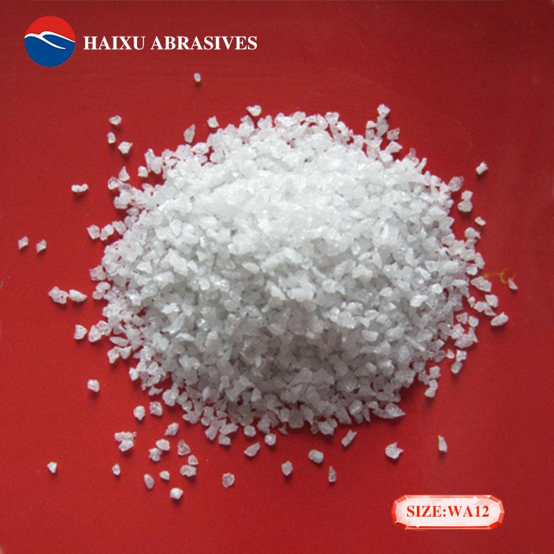 White Aluminum Oxide Sand