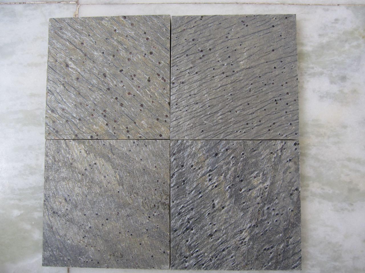 Silver Grey slate quartzite