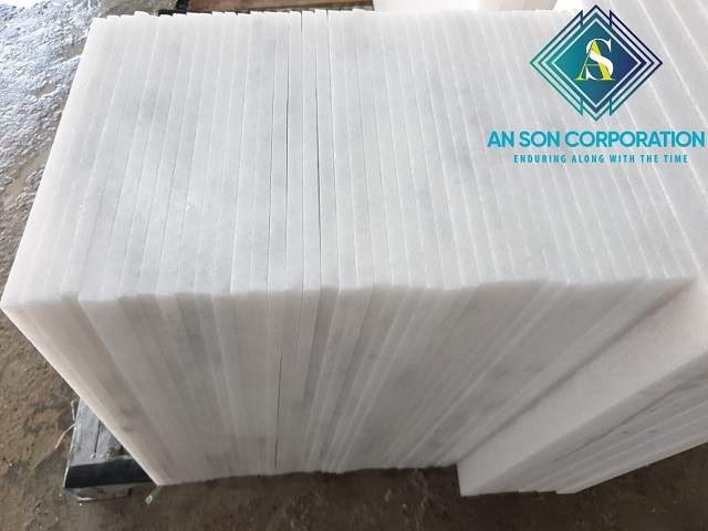 Super Thin Cloudy Marble Tile- 1.2cm for thickness