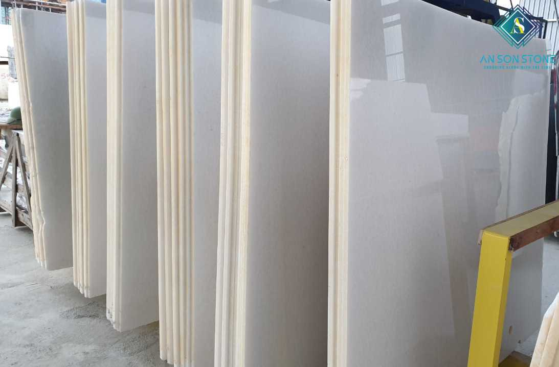 BIG SLABS WHITE MARBLE - VIETNAM NATURAL MARBLE