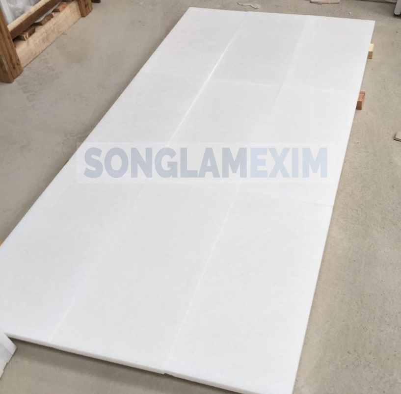 White Crystal Marble Polished