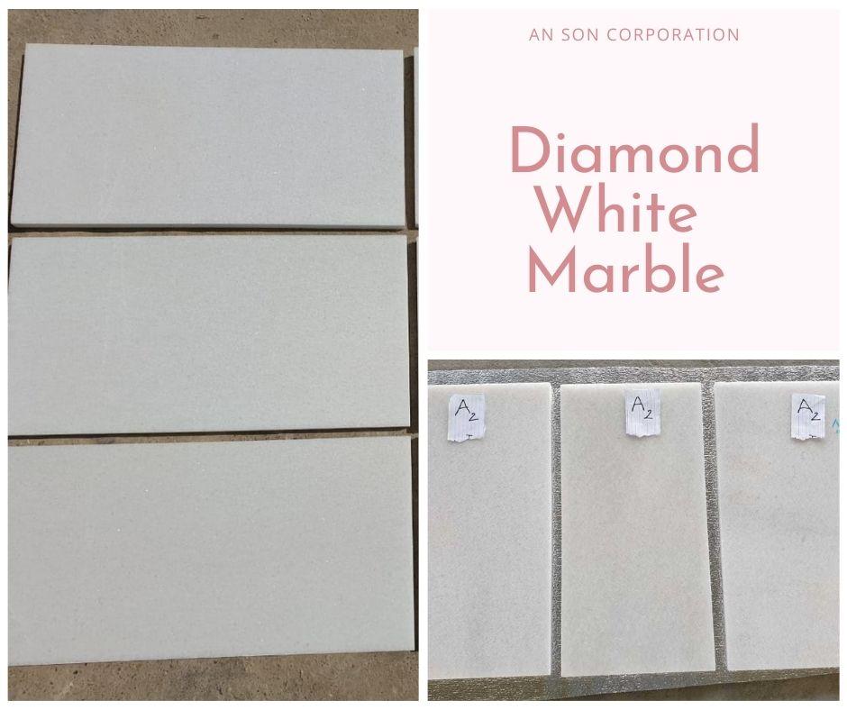 DIAMOND WHITE MARBLE TILE 30