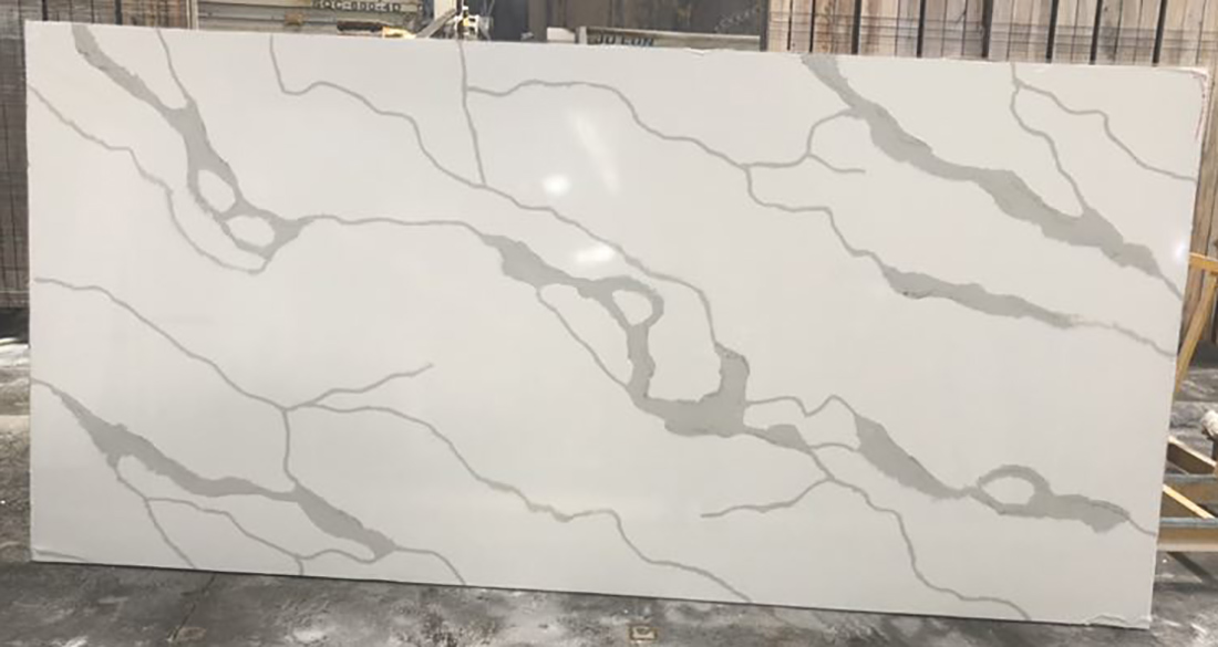 Calacatta White 2 Quartz slabs