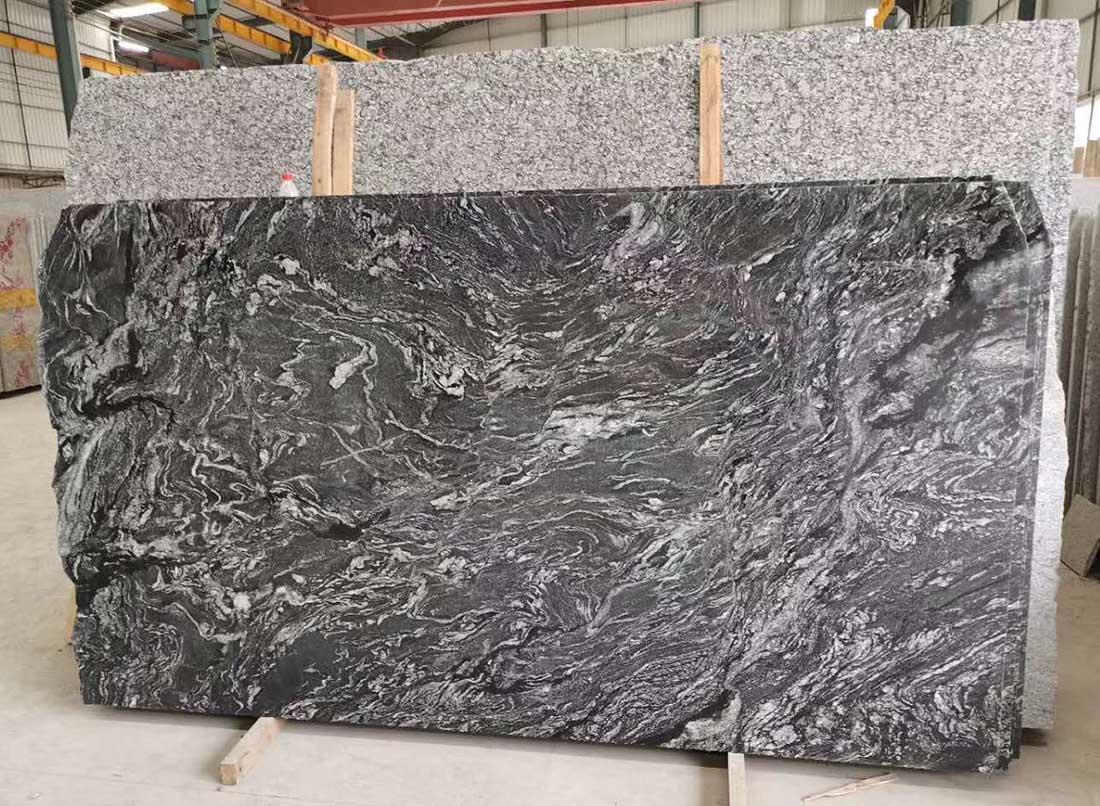Grace Grey Granite Slabs