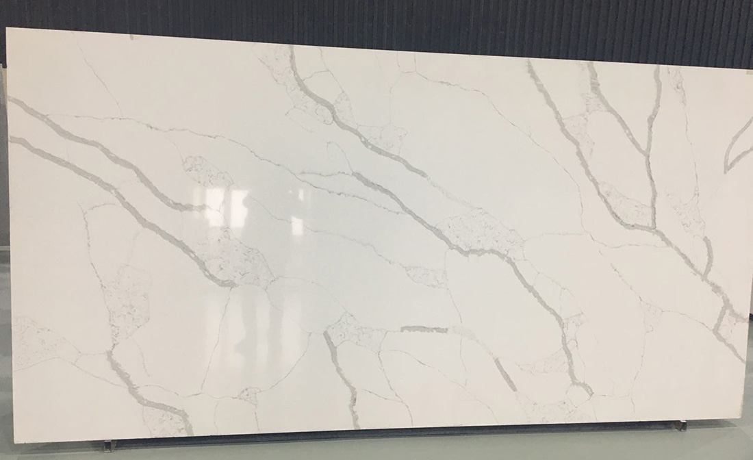 Calacatta White3 Quartz slabs