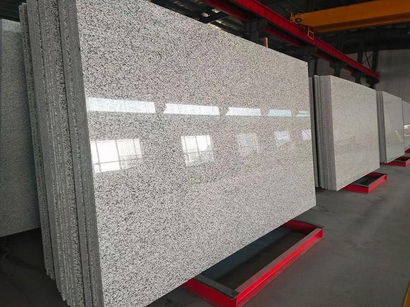 JL White slabs polished