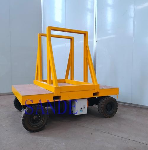 Electric Slab Bundle Transport Cart