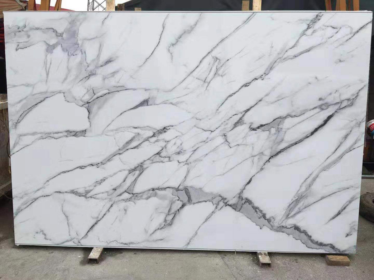 Artificial Marble 3D Calacatta White
