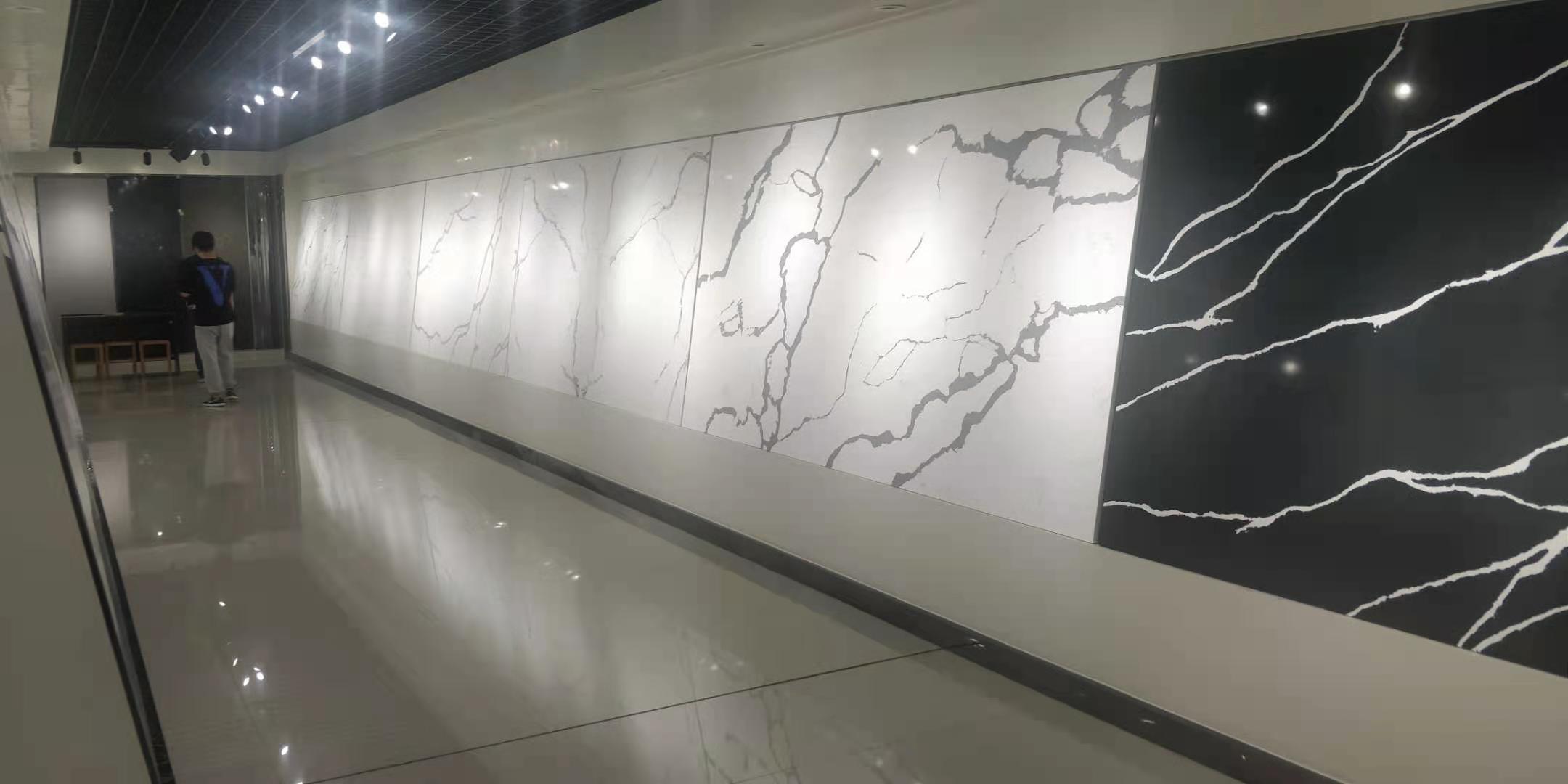 quartz slab calacatta 3200 1600 30 marble effect