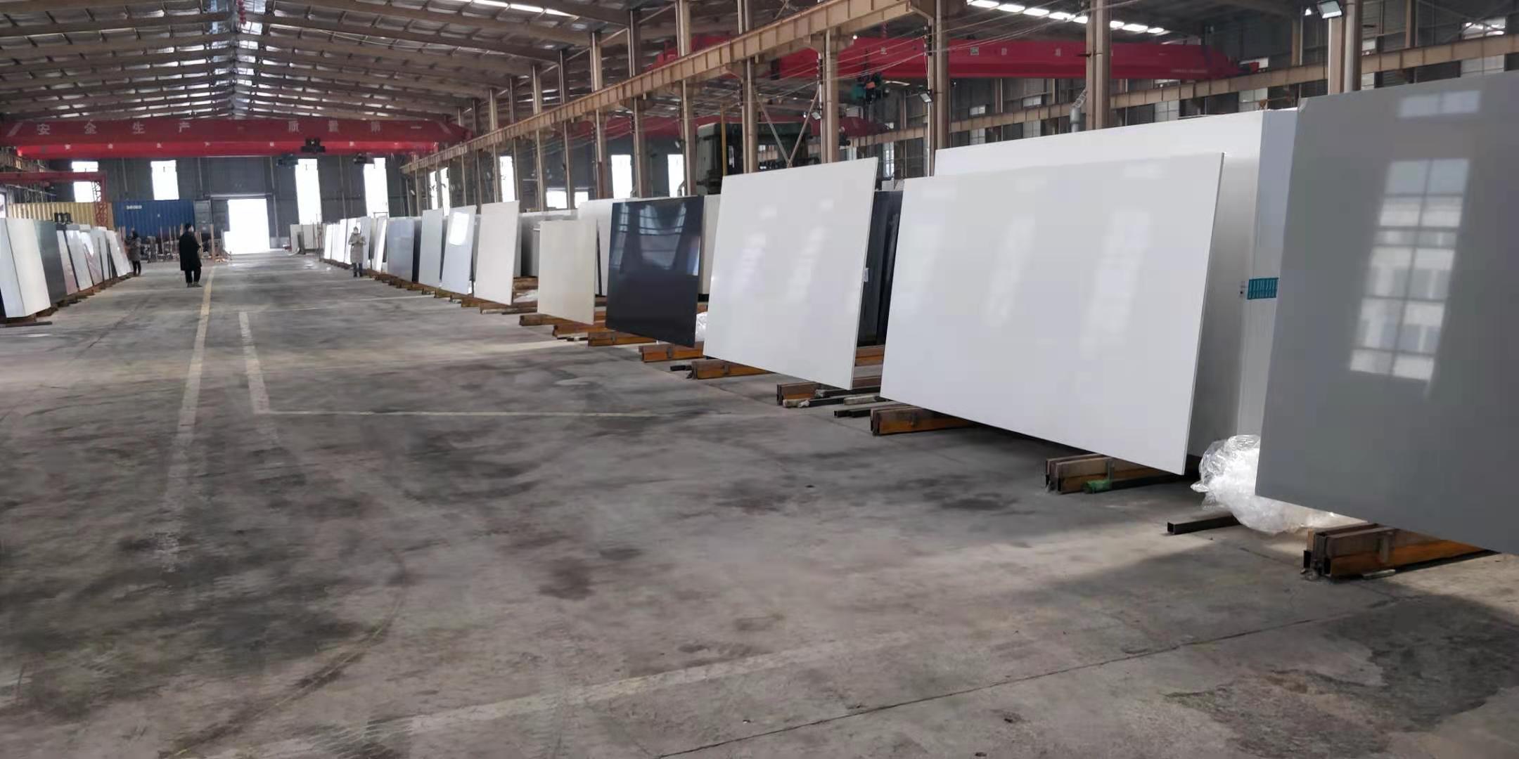 quartz slab pure white 20mm