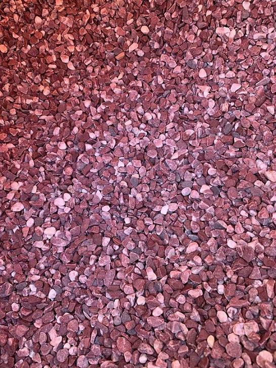 WZ STEIN blood red pebbles