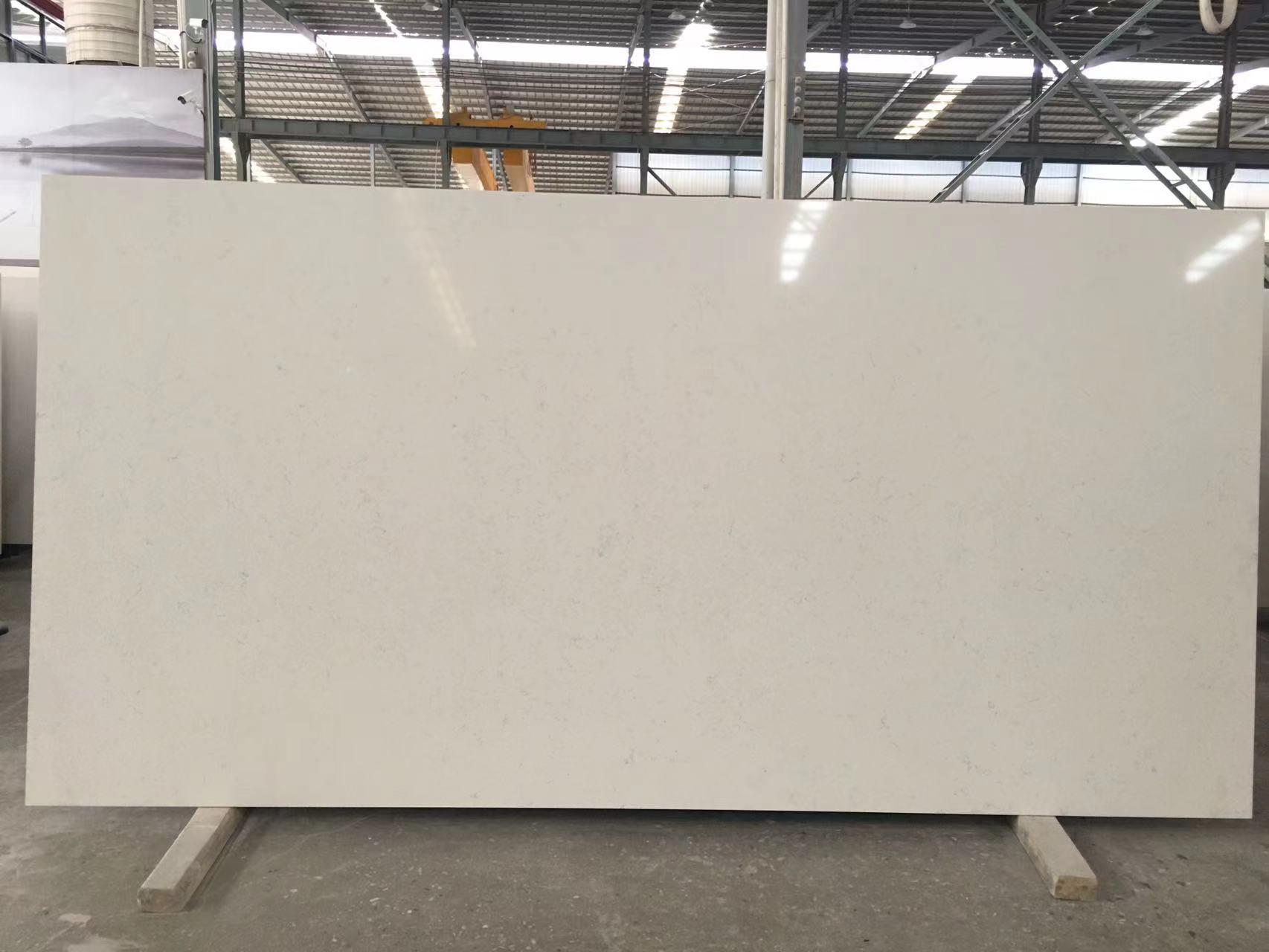 QUARTZ LUXURY WHITE SLAB 2109