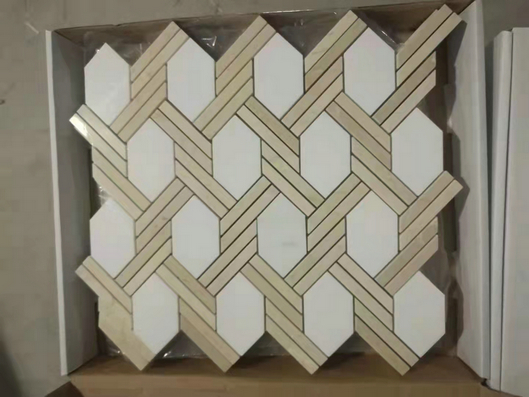 MARBLE MOSAIC MIX COLOR