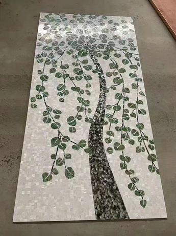 MARBLE TREE MOSAIC