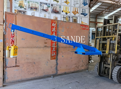 Extendable Forklift Boom