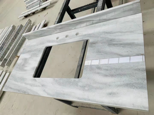 ITALY MARBLE COUNTERTOP WHITE RIVER