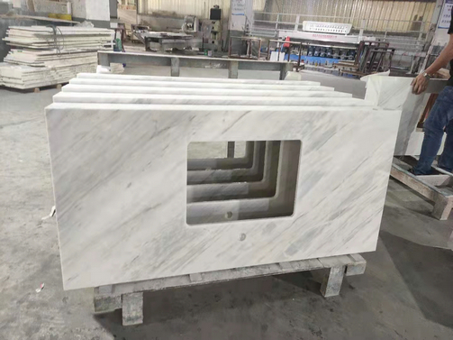 CHINESE WHITE MARBLE COUNTERTOP