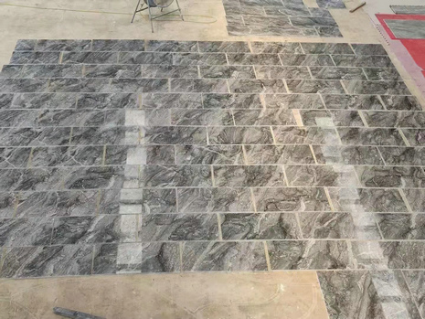 CHINESE MARBLE TILE LAY DRY