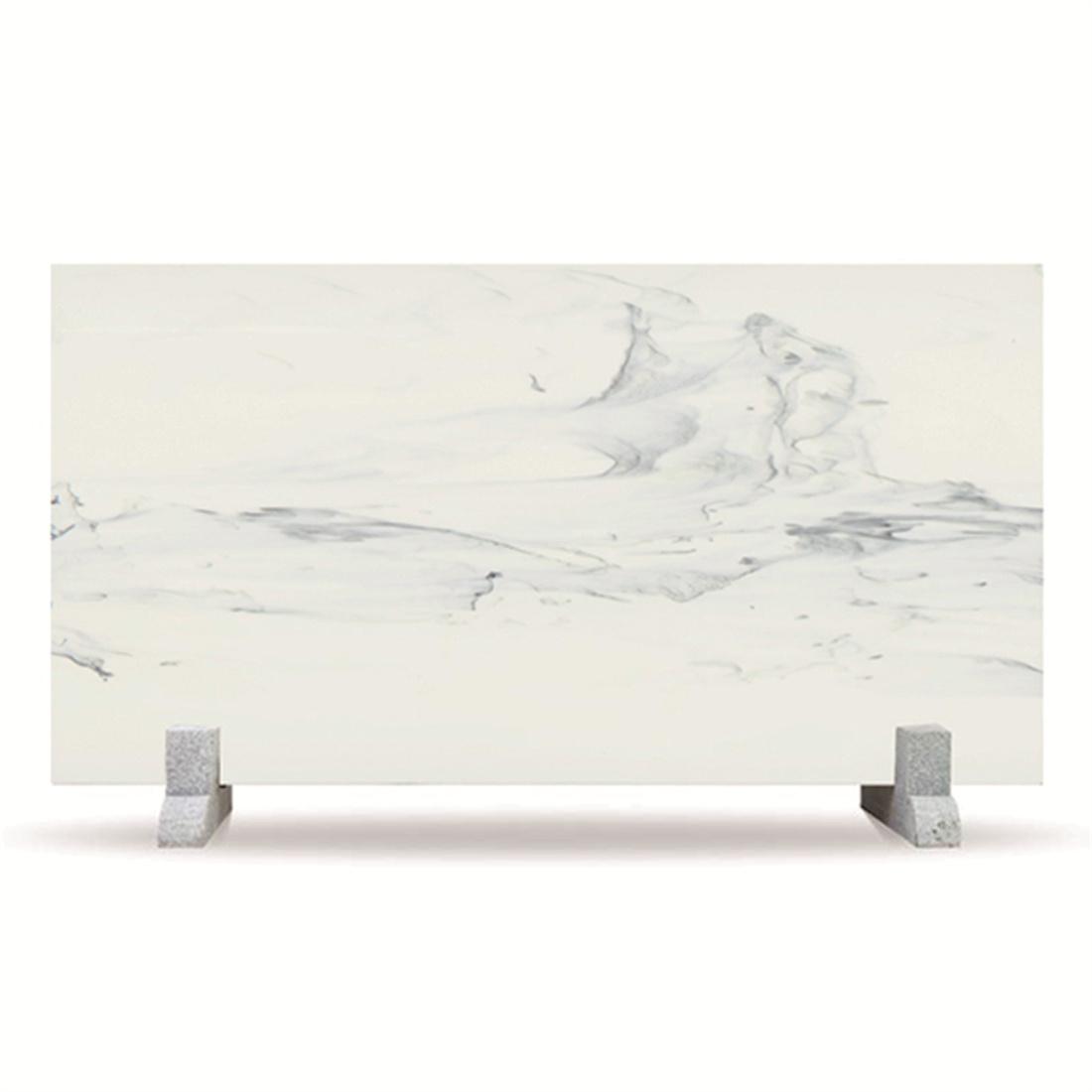 Kartso Calacatta  Nano Crystallized Glass Stone Slab For countertop or hotel wall panel