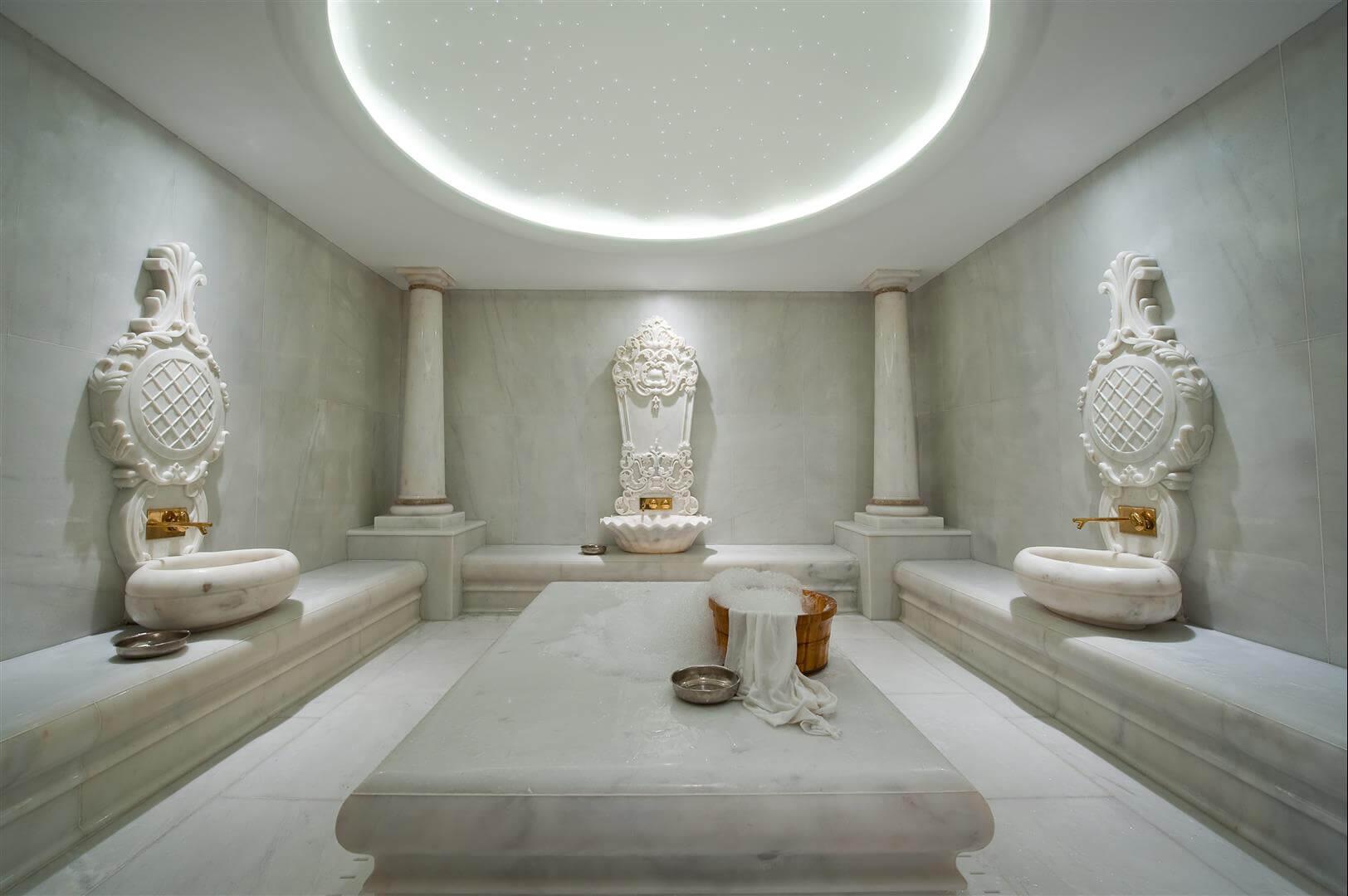 Afyon White Arcobaleno Marble