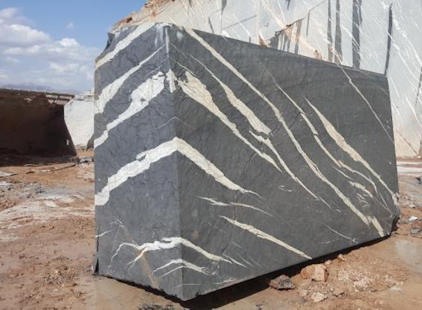 Iran black marble