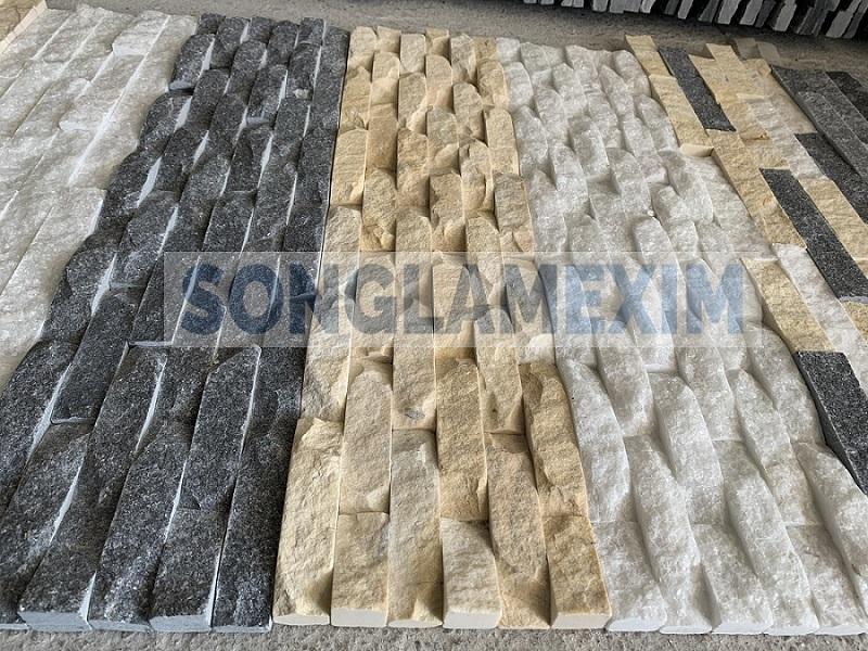 Vietnam Wavy Cladding Wall Marble