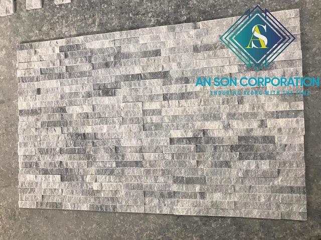 Dark Grey Line Wall Panel