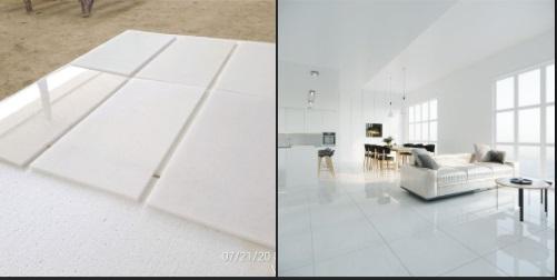 Feedback-White Marble