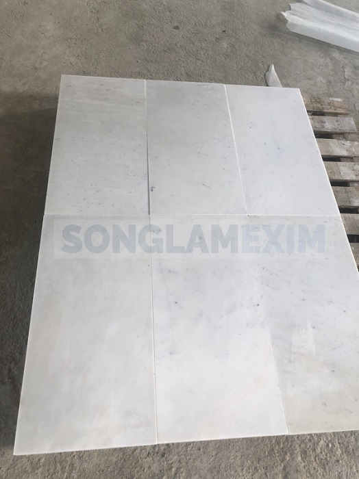 Silver Sky Sanded Marble