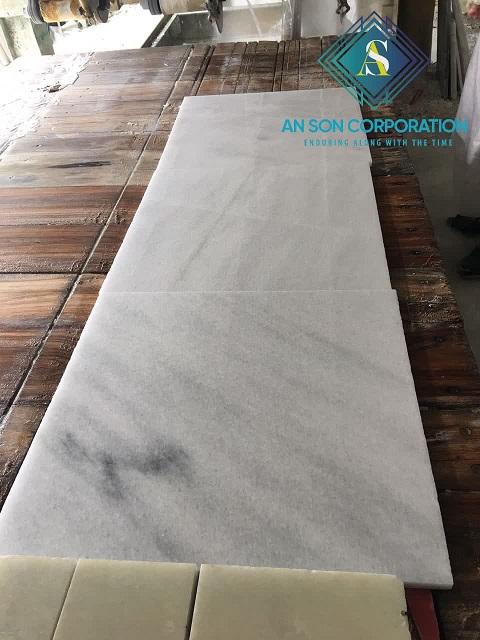 Third Quality White Marble