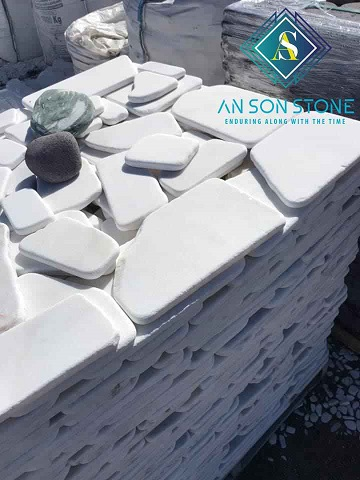 White Garden Stone Marble