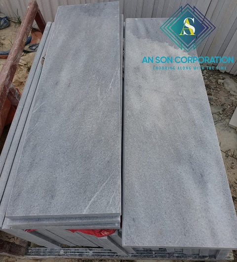 Grey Marble For Steps &Rises