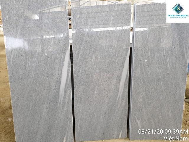 Polished Grey Marble Tile Steps& rises