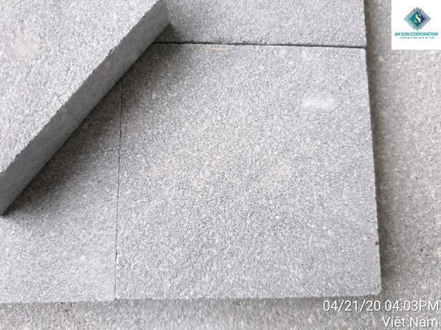 Sandblasted Grey Tile- Small Tile