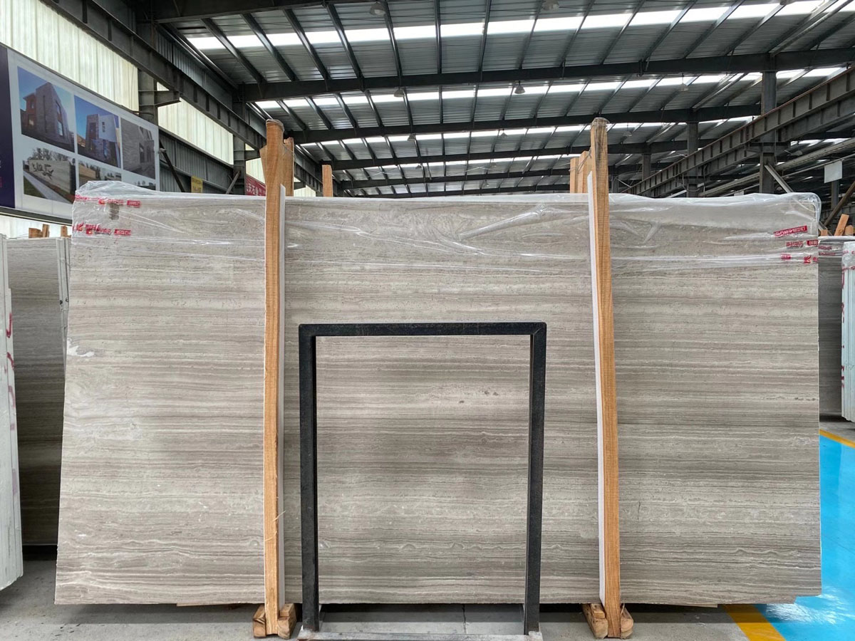 Quarry Owner of Wooden Grey Marble