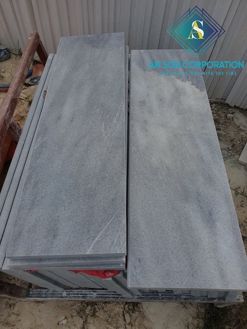 Grey Marble Tile For Step