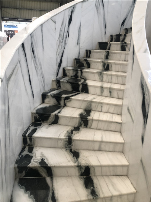 Panda White Stairs Risers Tiles