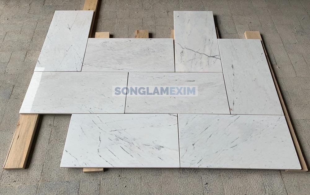 Milky White Marble Tile