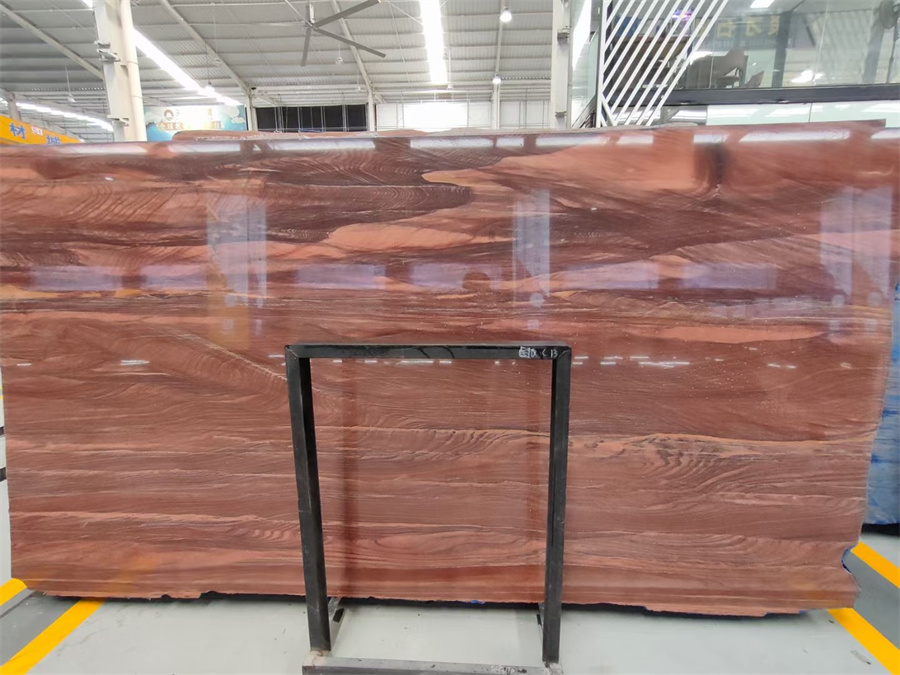 Red Amber Marble