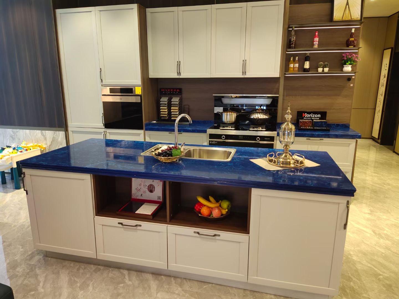 Blue Quartz Kitchen Countertops from China