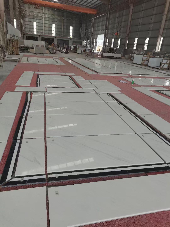 Arison White Marble For Floor Tiles
