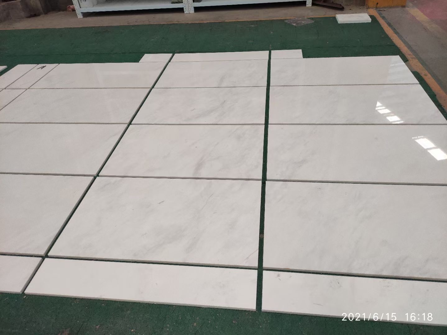 Arison White Greece Marble For Floor and Wall Tiles