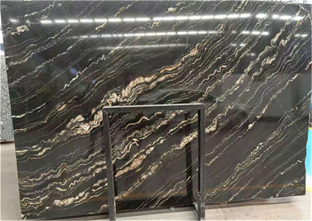 Black Marquette Brazil Marble