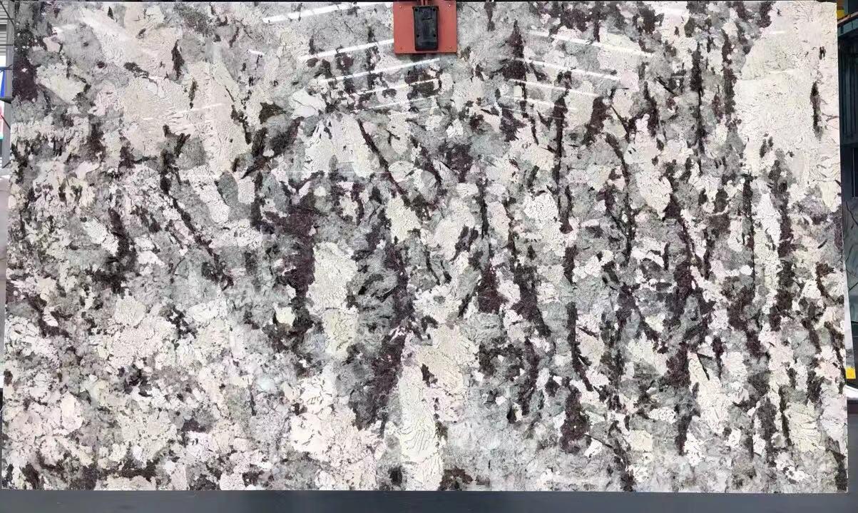 Sea Leaf Natural Quartz For Wall Background Slab